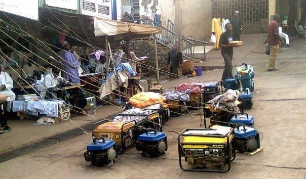 Generators in Africa